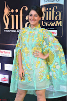 Isha Talwar in Transparent Cute Small mni dress at IIFA Utsavam Awards 2017  Day 2    HD Exclusive Pics 20.JPG