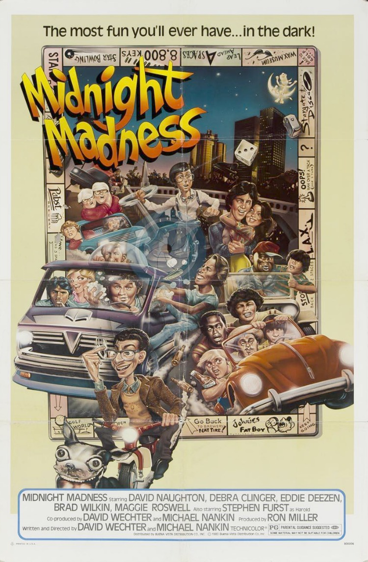 A Vintage Nerd, Classic Film Blog, Old Hollywood Blog, 1980s Movies,  Midnight Madness