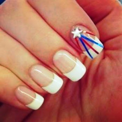 Fourth Of July Nail Art Designs 2014