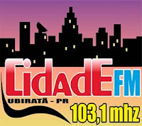 Rádio Cidade FM de Ubiratã PR ao vivo