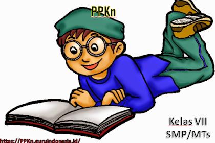 INSTRUMEN PENILAIAN PPKn KELAS VII SMP KURIKULUM 2013 REVISI 2017