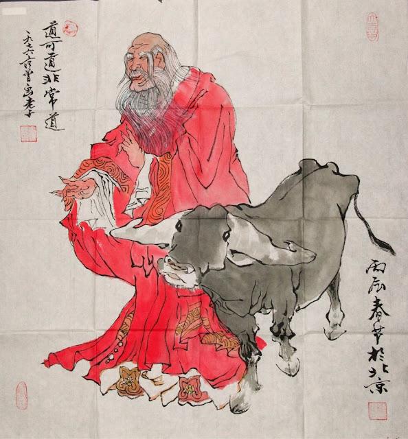 Старац и крава (Фан Зенг, 1938.)