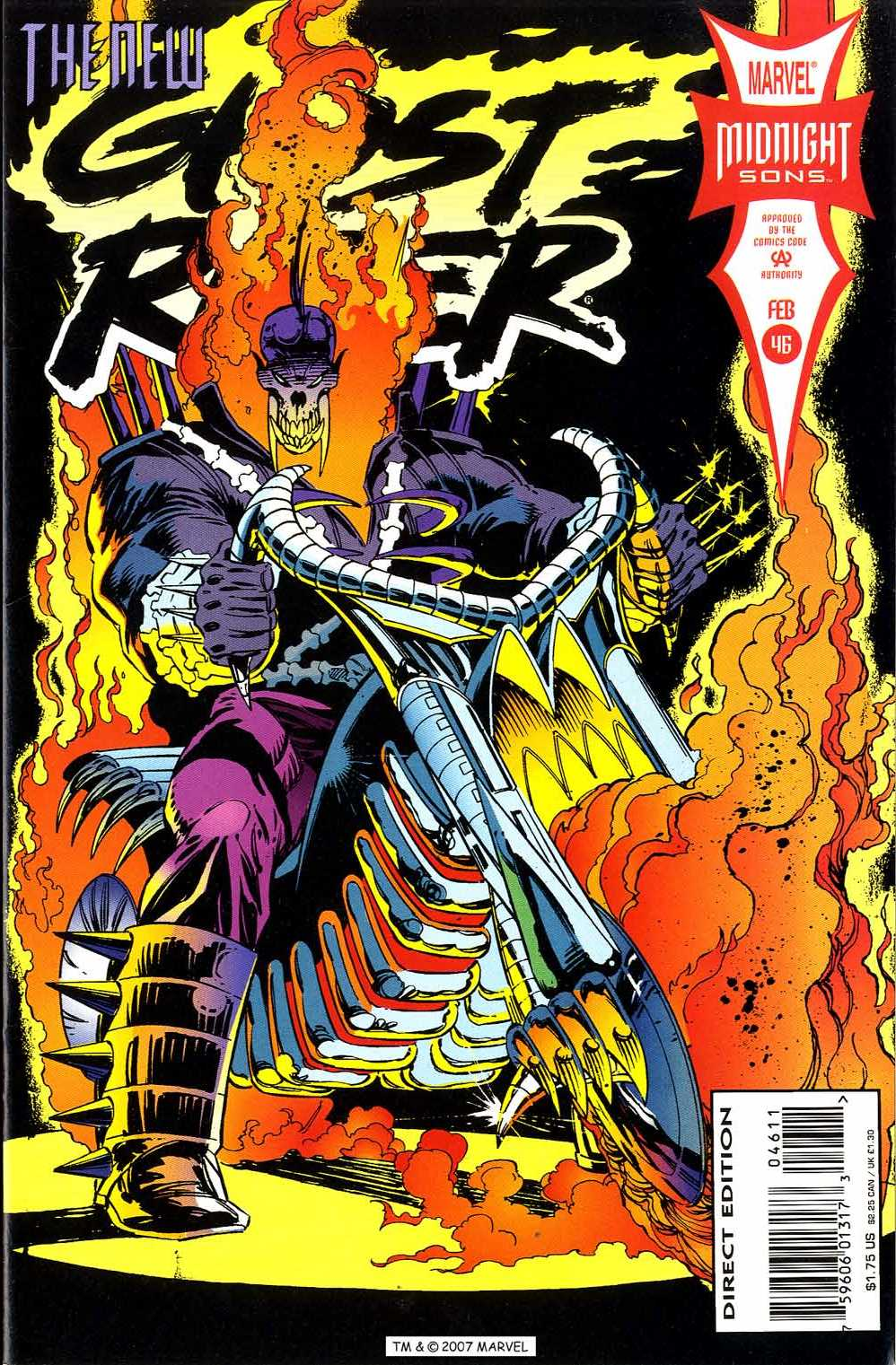Ghost Rider (1990) 46 Page 1