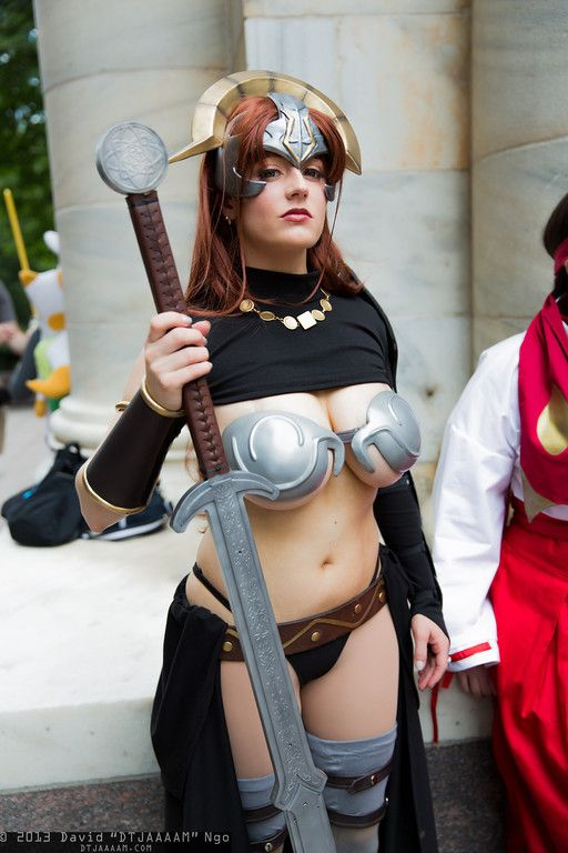 abby dark star sexy claudette vance cosplay 04