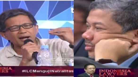 Reaksi Fahri Hamzah Saat Dipuji Rocky Gerung, Dilanjutkan Drama dengan Boni Hargens