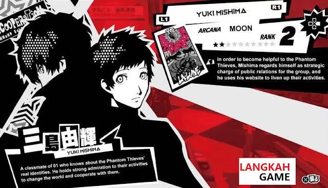 Panduan Confidant/Social Link Persona 5: Moon, Sun & Judgement Arcana