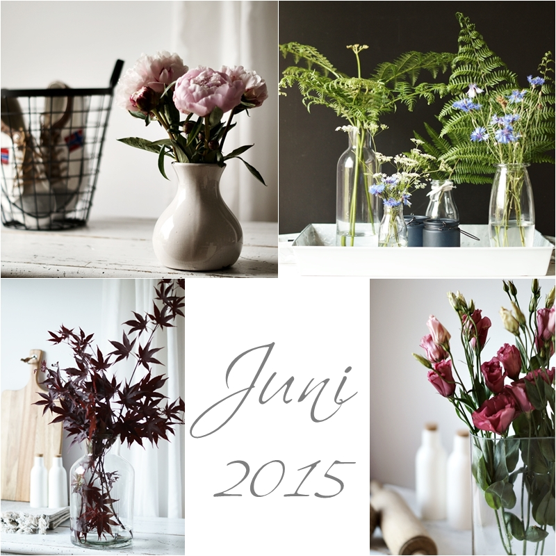 Blog + Fotografie by it's me! - Collage Friday Flowerday - Juni 2015