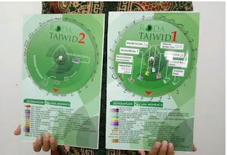 Roda Tajwid cara belajar Al Qur'an dengan benar dan mudah masa kini