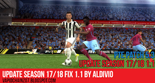 PTE Patch 5.3 Season 2017-18 (Update+Fix)