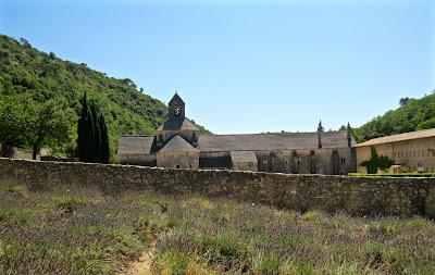 Abbaye de Sénanque in August
