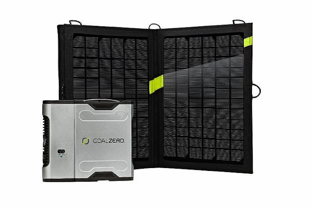 Best Off Grid Power Gadgets - Solar Recharging Kit with Inverter