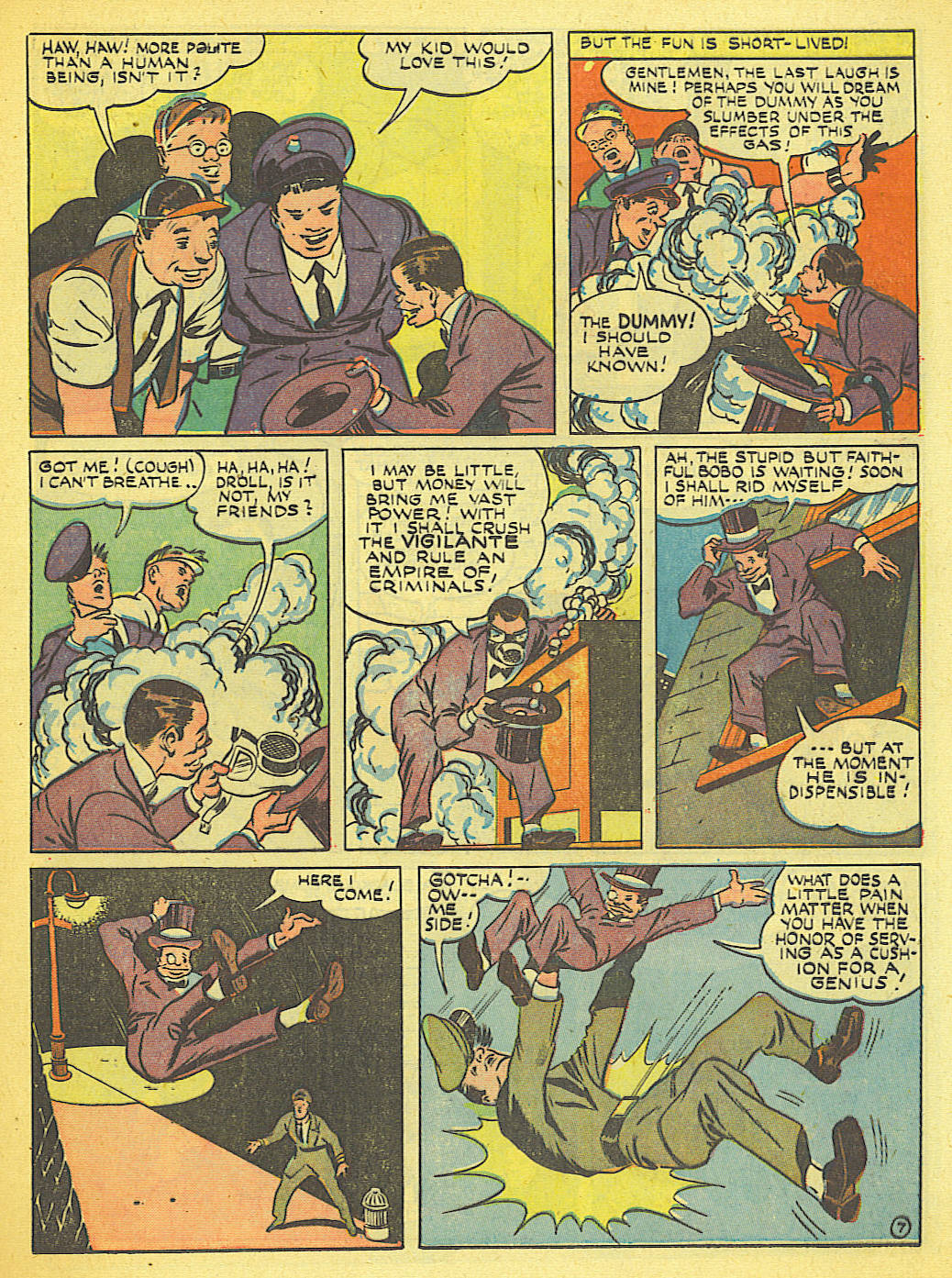 Read online Action Comics (1938) comic -  Issue #58 - 21