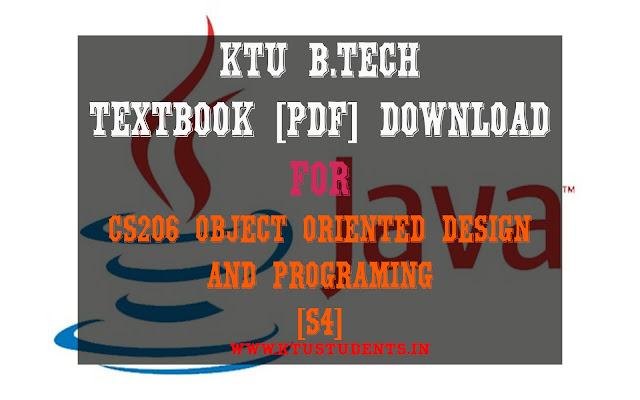 ktu cs206 textbook pdf download