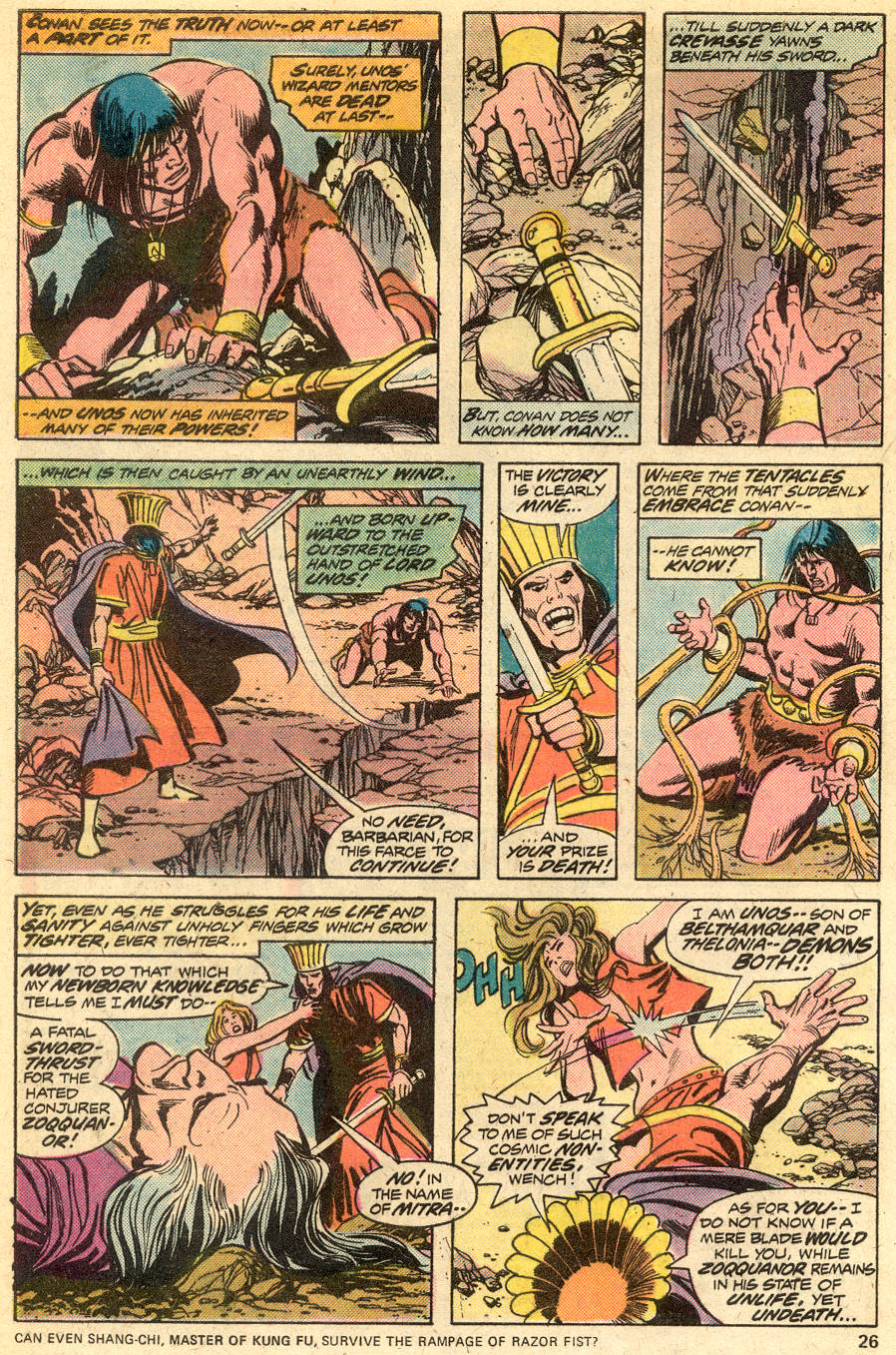 Conan the Barbarian (1970) Issue #51 #63 - English 16