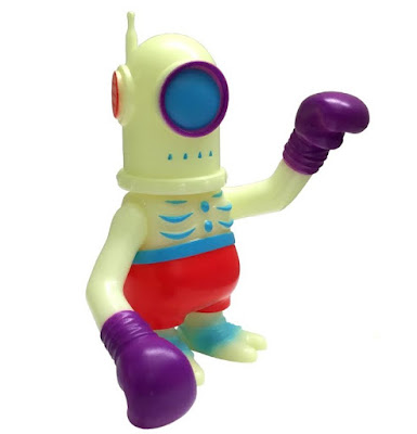 Glow Cyclobot Fighter Vinyl Figure by Super7 x Secret Base