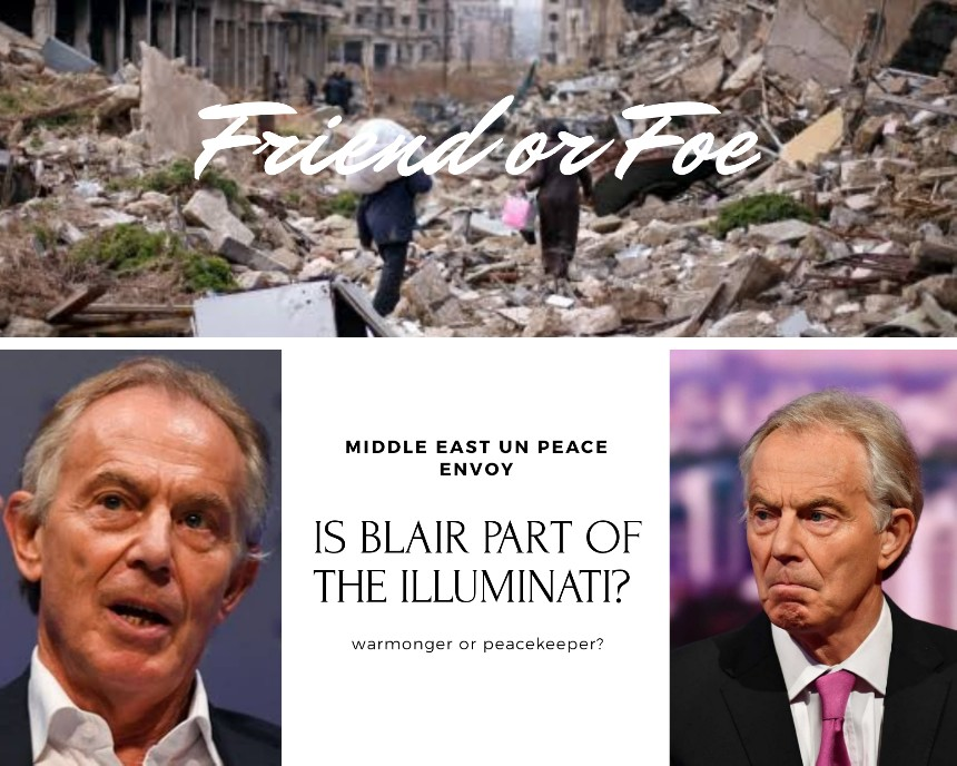 Tony Blair and the illuminati