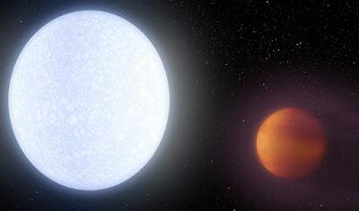 Descoberto exoplaneta com a temperatura mais alta do Universo