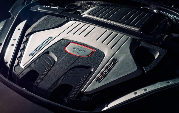 Motor V8 Porsche Panamera 2017