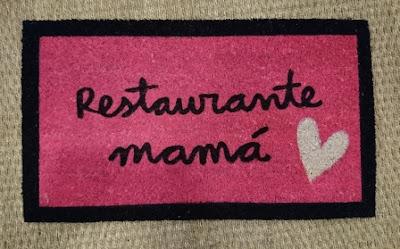 Felpudo restaurante mamá