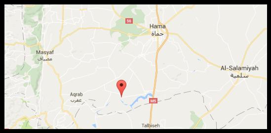 Markas Militer Hama suriah