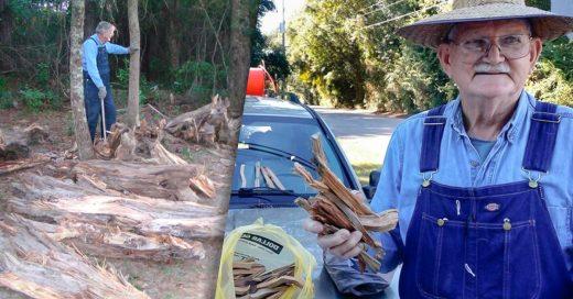 Vendía madera para ayudar a su esposa que tenía cáncer