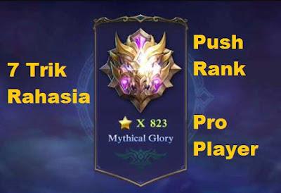 Push rank ialah kalimat yang berasal dari dua kata 7 Trik Push Rank yang Dirahasiakan Pro Player