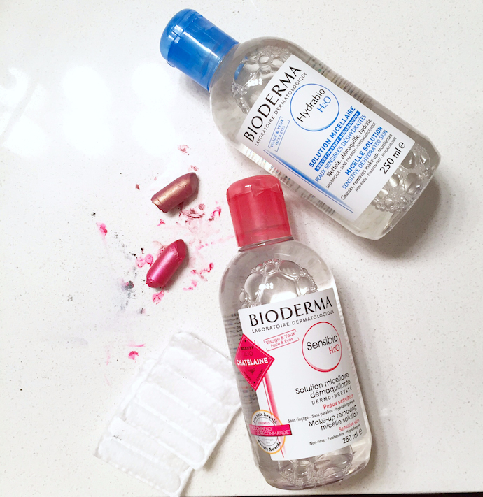 Bioderma Hydrabio H2O and Sensibio H2O: A quick review