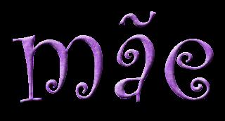 Texto png mãe - Criação Blog PNG-Free