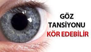 Göz tansiyonu tedavisi