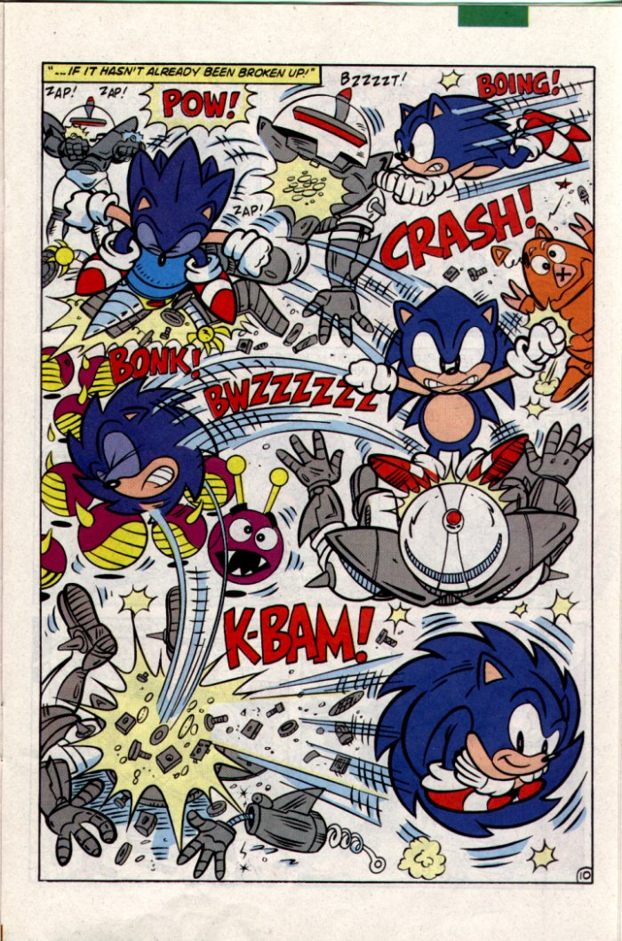 Read online Sonic The Hedgehog comic -  Issue #18 - 11
