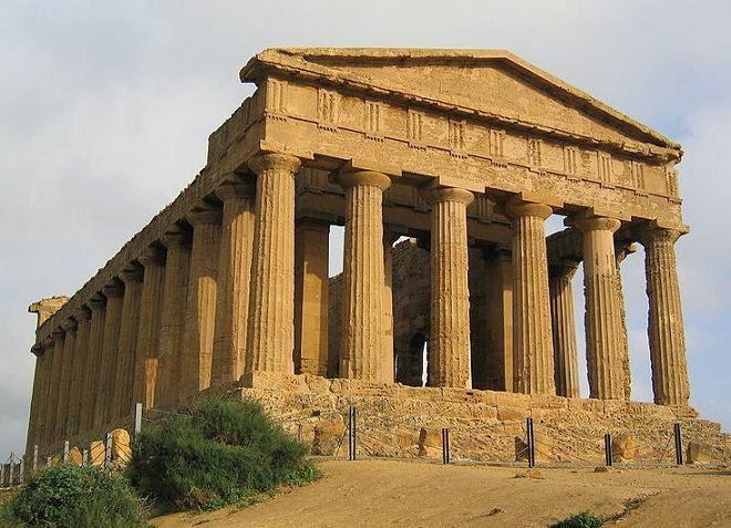 Algargos Arte E Historia El Templo Griego Partes Características Descripción Lista Cronológica De Los Principales Templos Por Etapas