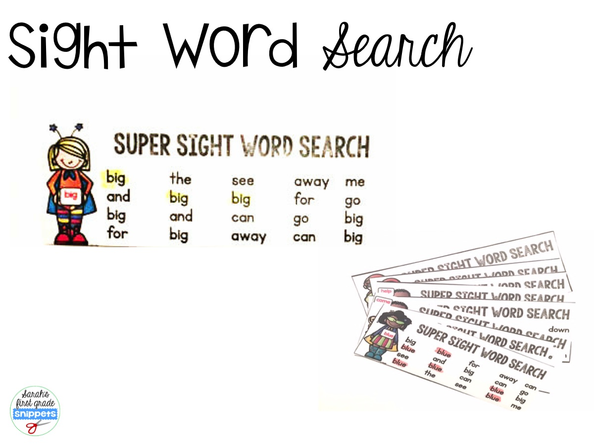 Sarah S First Grade Snippets Super Reader Pack Fluency Phonics And Sight Word Activities For