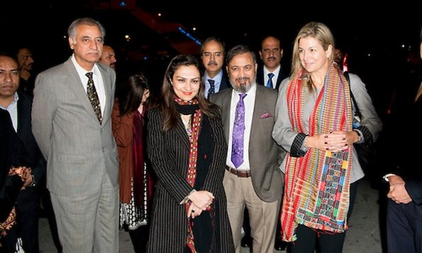 Dutch Queen Maxima During Her Visit To Pakistan, The Arrival