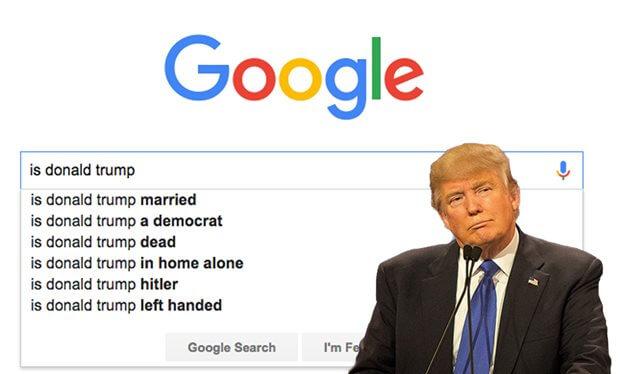 Check out Google Vs Donald Trump!!