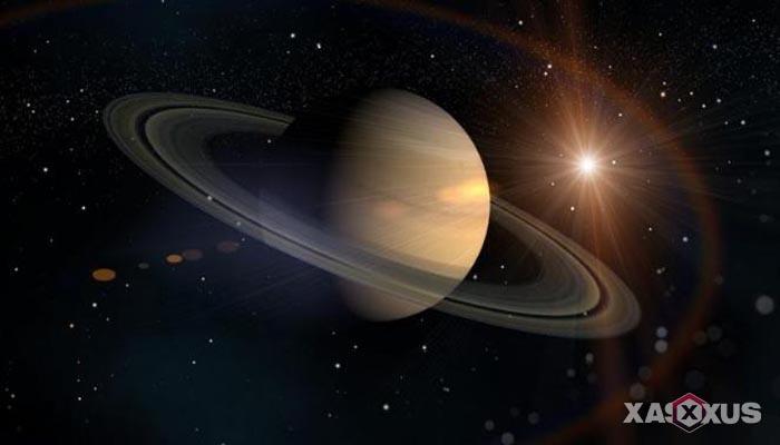Gambar planet saturnus - urutan planet ke-6
