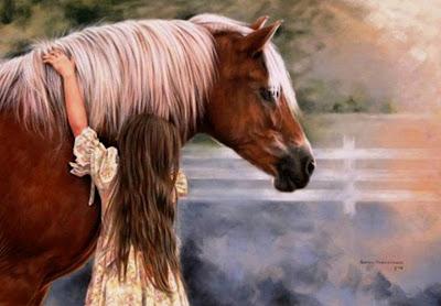 niñas-y-caballos-al-oleo-cuadros