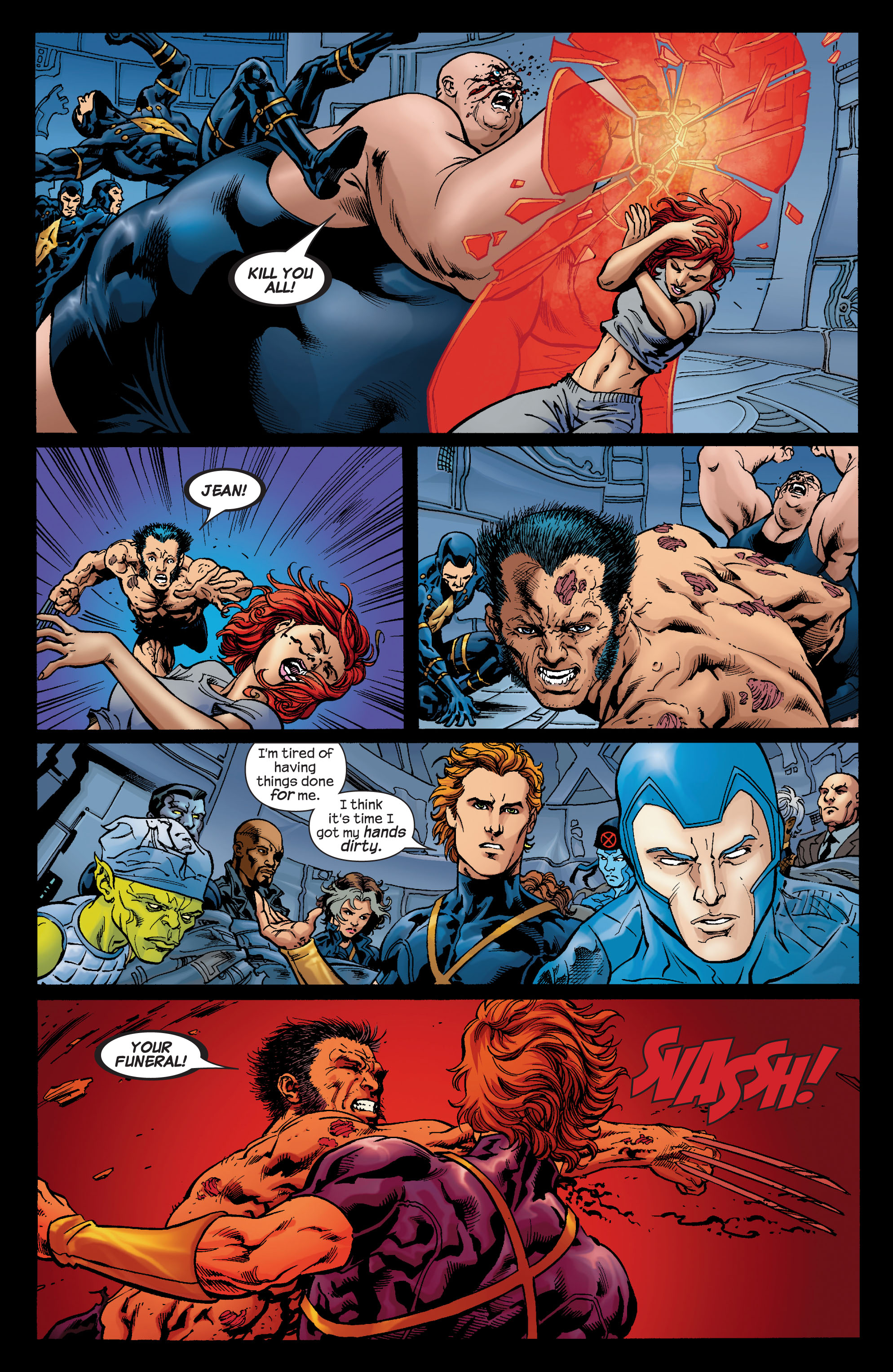 Read online Ultimate X-Men comic -  Issue #74 - 8