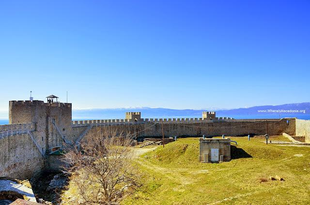 Samoil fortress, Ohrid, Macedonia