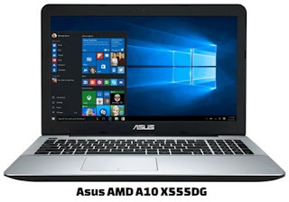 harga laptop asus amd a10 x555dg