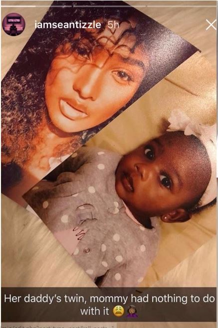 Sean Tizzle's Baby Mama And Daughter Pictured 2