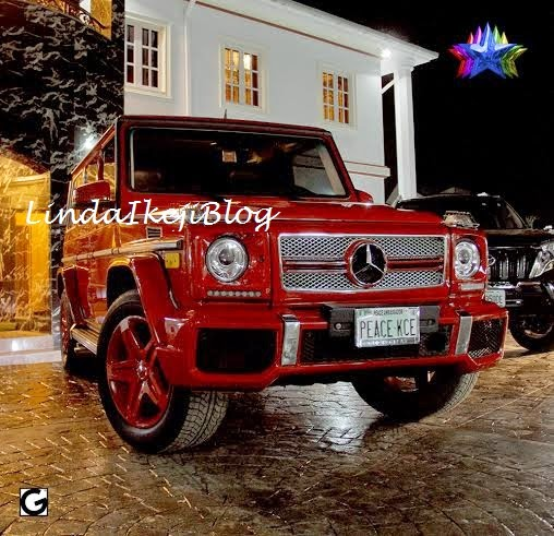 kceegwagonbirthday+present+lindaikejiblog6 Kcee Gets 2013 Benz G Wagon From Brother As Birthday Gift [See Photos]