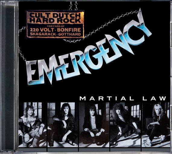 EMERGENCY - Martial Law [digitally remastered] (2016) full