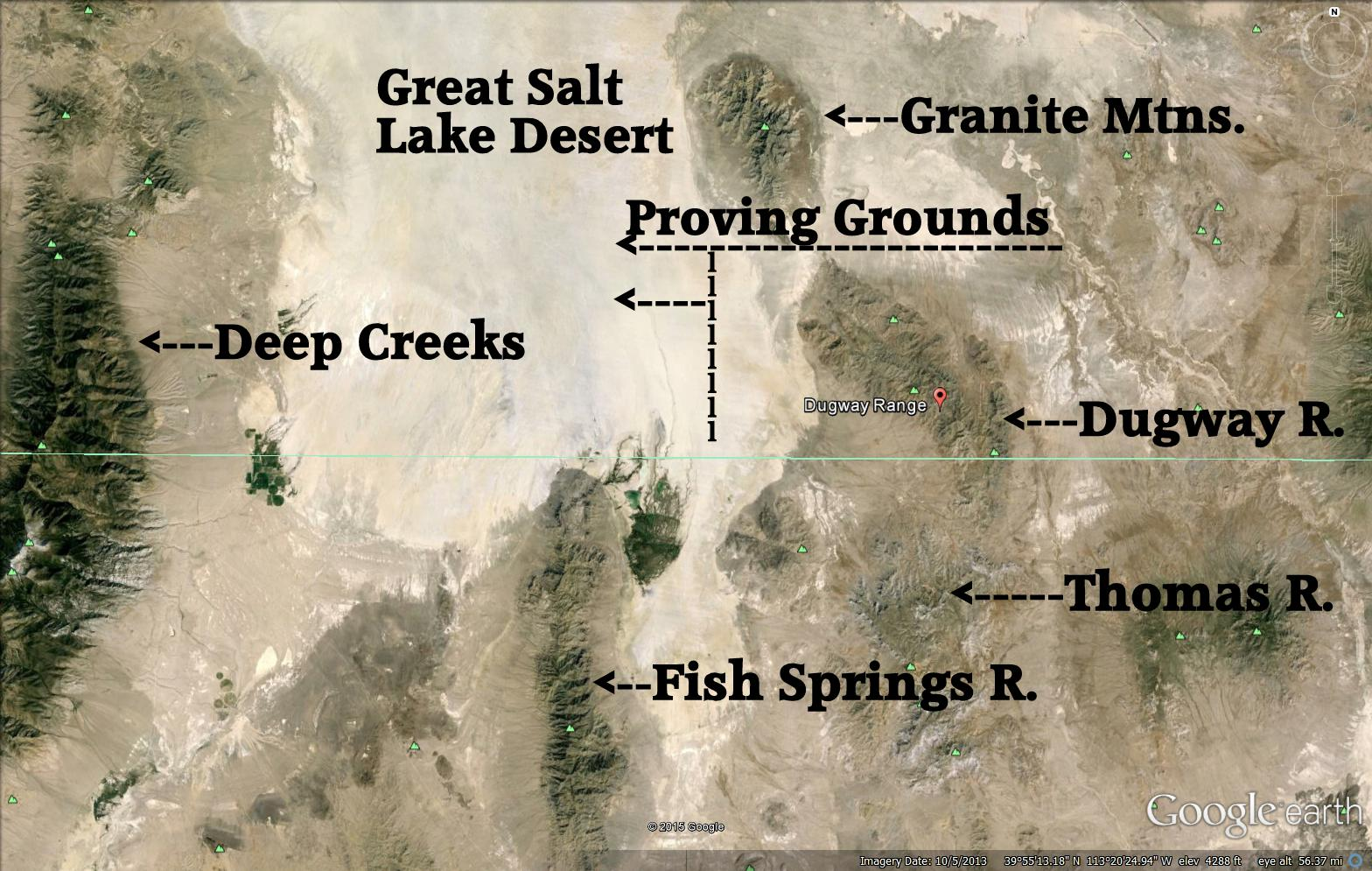 CSMS GEOLOGY POST: DUGWAY GEODES, ANTLERITE, SCARY PLACES