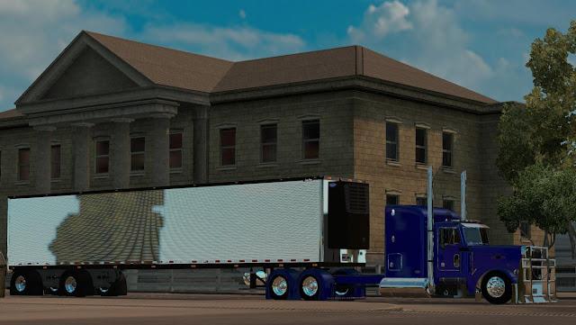 American Truck Simulator BAU CROMADO TRAILER V1.0 Trailer Download MODs