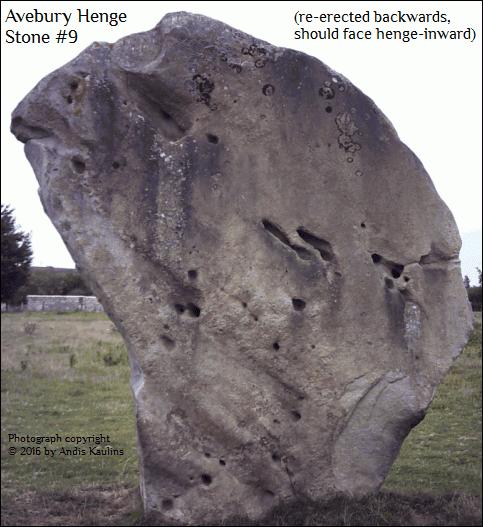 Avebury Stone #9 Ursa Major Face