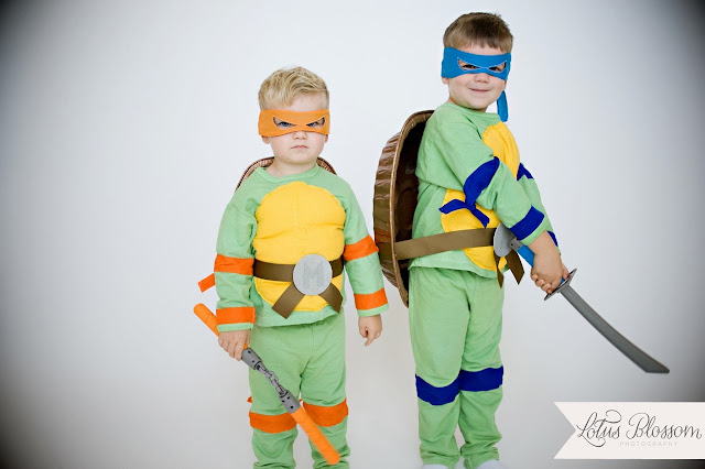 Finished TMNT Costumes