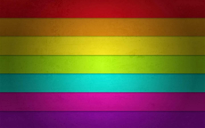 Fondo De Pantalla Abstracto Barras De Colores Horizontales