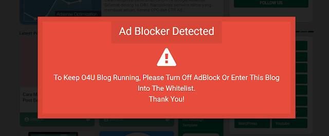 Cara Memasang Anti Adblock Killer dan Lazy load Adsense Terbaru 2019