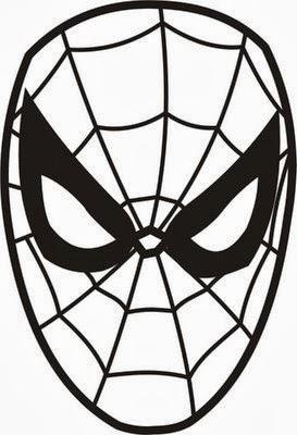 Mascara Do Homem Aranha Para Imprimir Formando Alunos