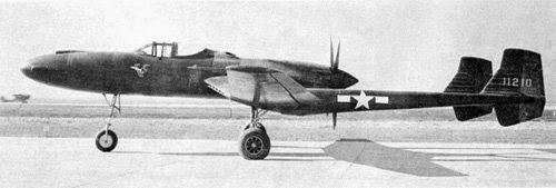 XP-55, Desain Tidak Biasa Pesawat Tempur Era Perang Dunia II
